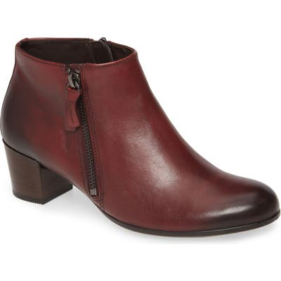 Ecco Shape 35 Ankle Bootie, Burgundy