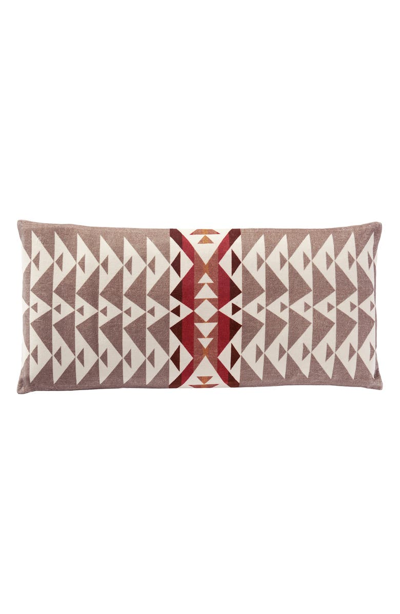 PENDLETON Trail Velvet Accent Pillow, Main, color, 020