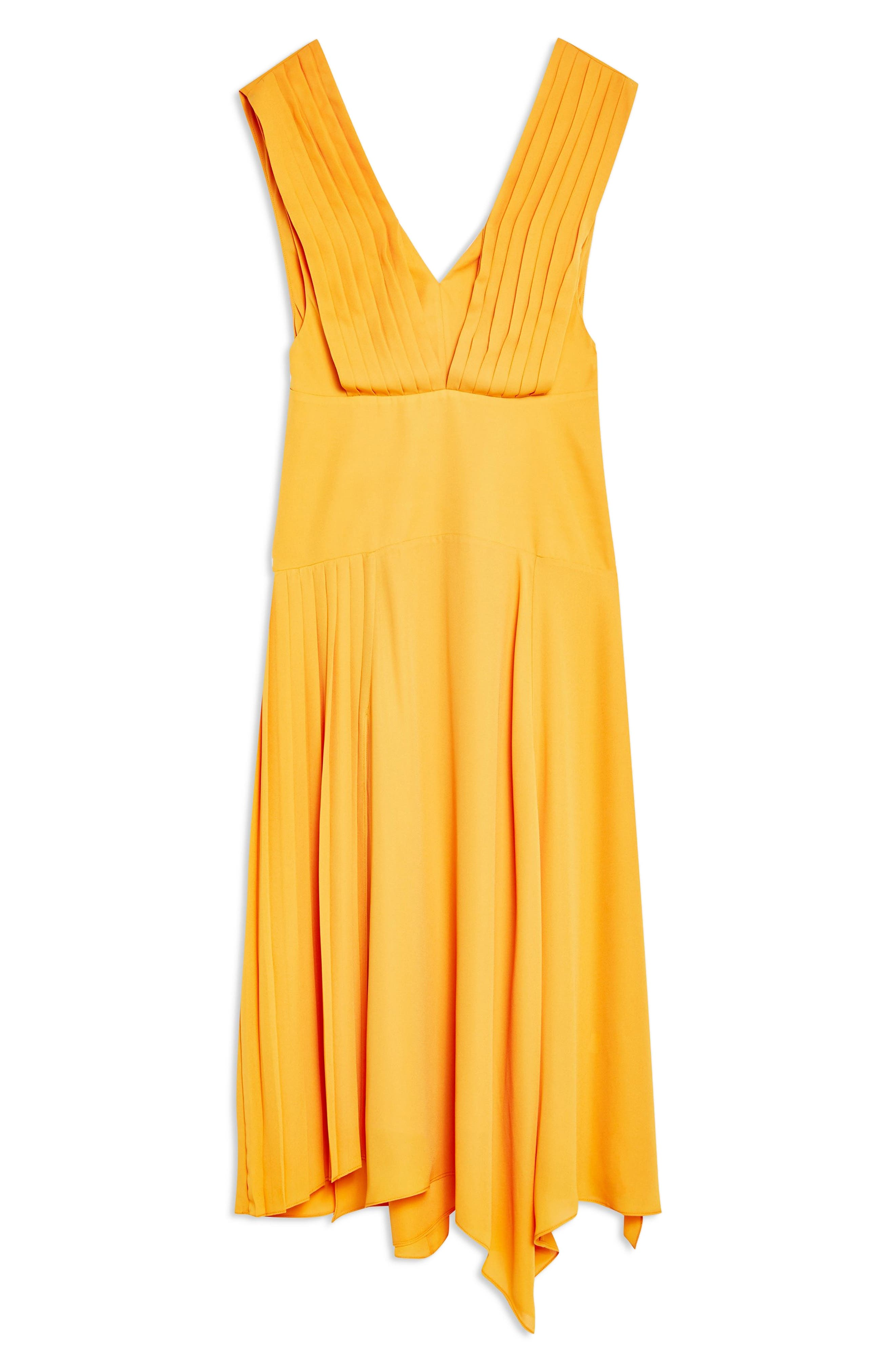 ,                             Pleated Pinafore Midi Dress,                             Alternate thumbnail 13, color,                             700