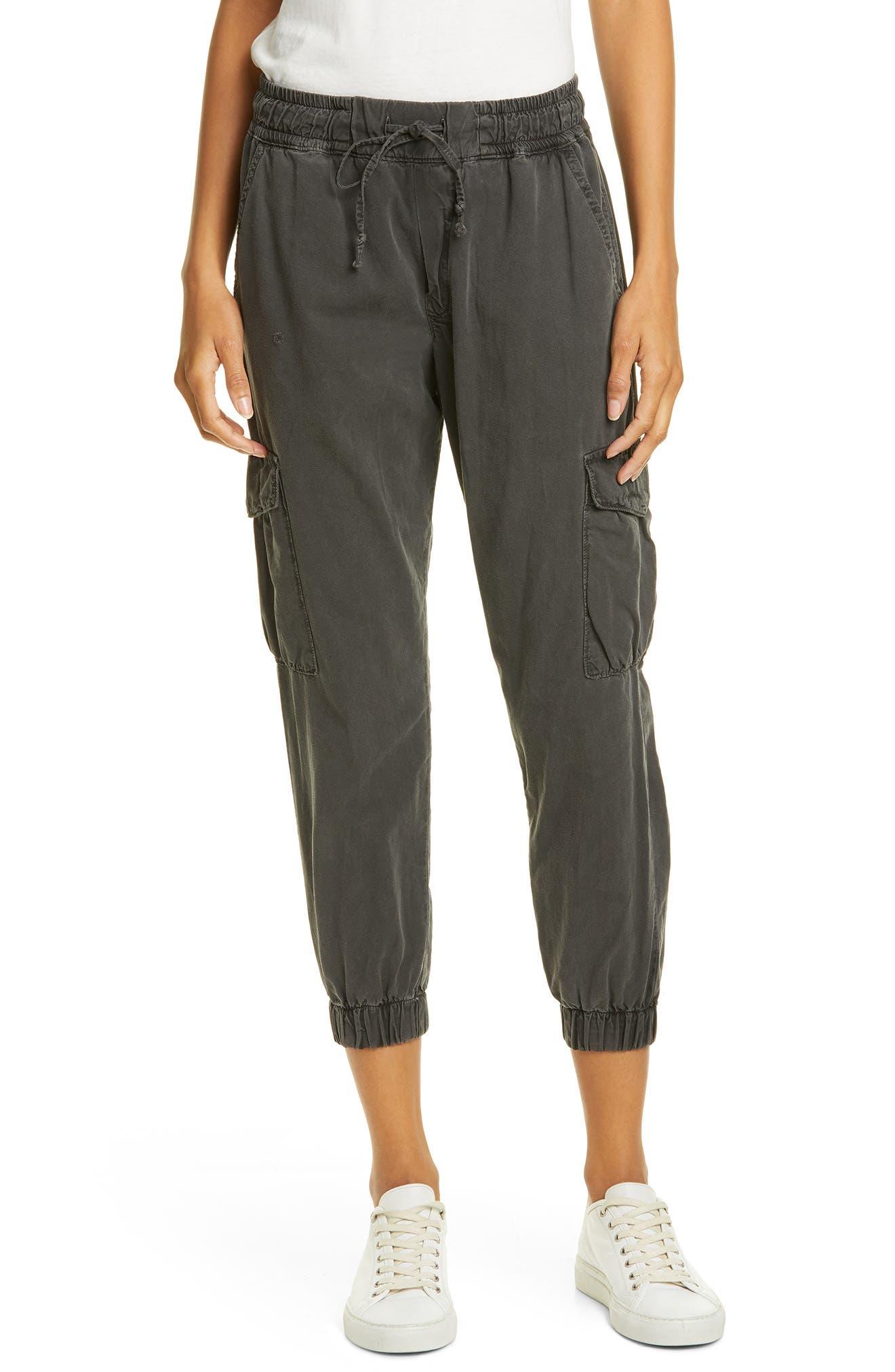 Nsf Clothing Johnny Cargo Jogger Pants, Black