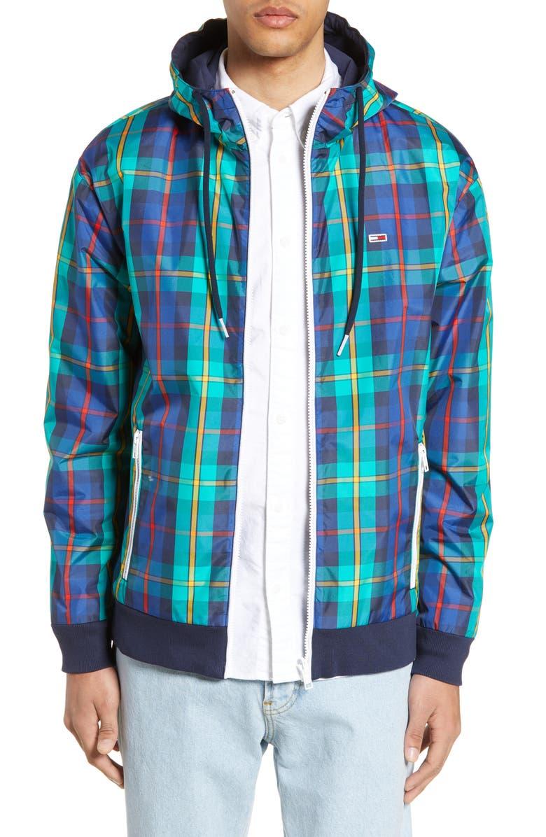 TOMMY JEANS TJM Reversible Hooded Jacket, Main, color, 400