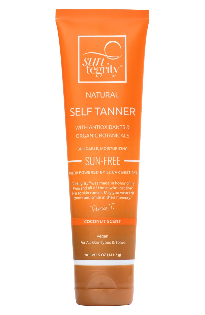 SUNTEGRITY 5-in-1 Natural Self Tanner, Main, color, NO COLOR