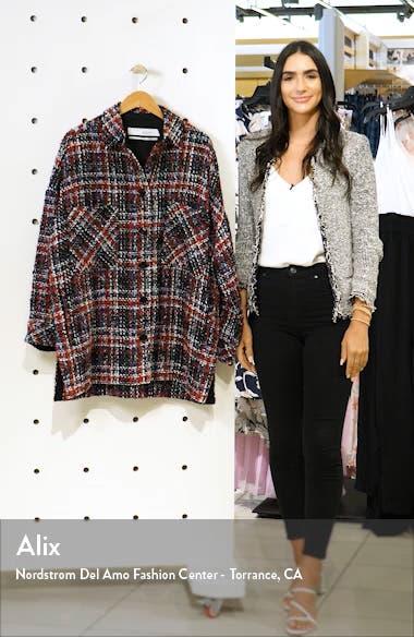 Elmer Plaid Shirt Jacket, sales video thumbnail