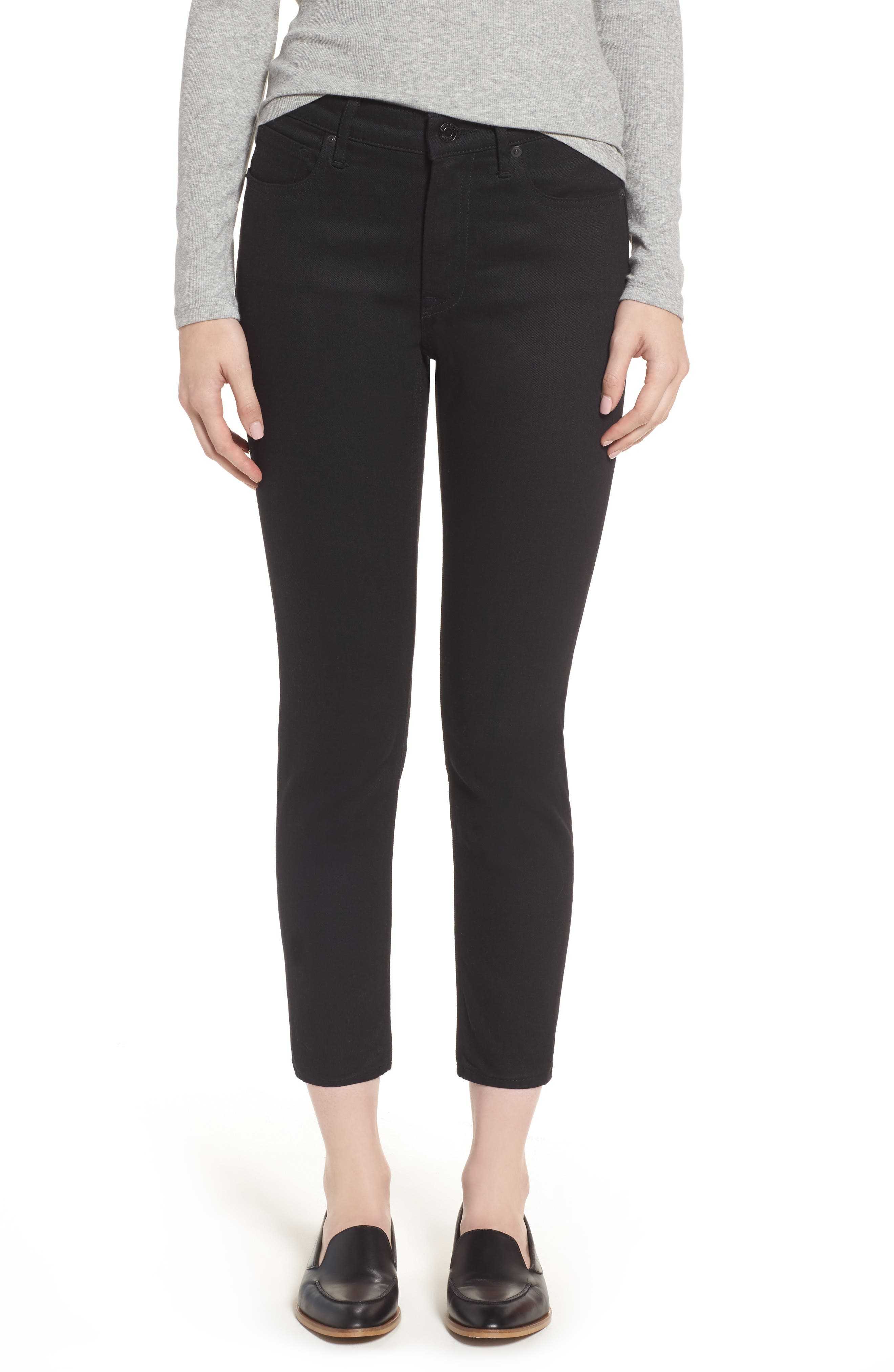 Image of EVERLANE The Mid-Rise Skinny Crop Jeans