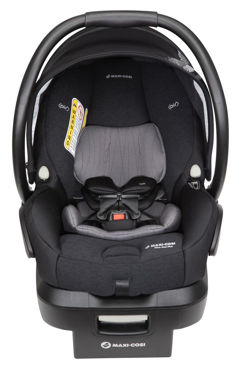 MAXI-COSI<SUP>®</SUP> Mico Max Plus Infant Car Seat, Main, color, FREQUENCY BLACK