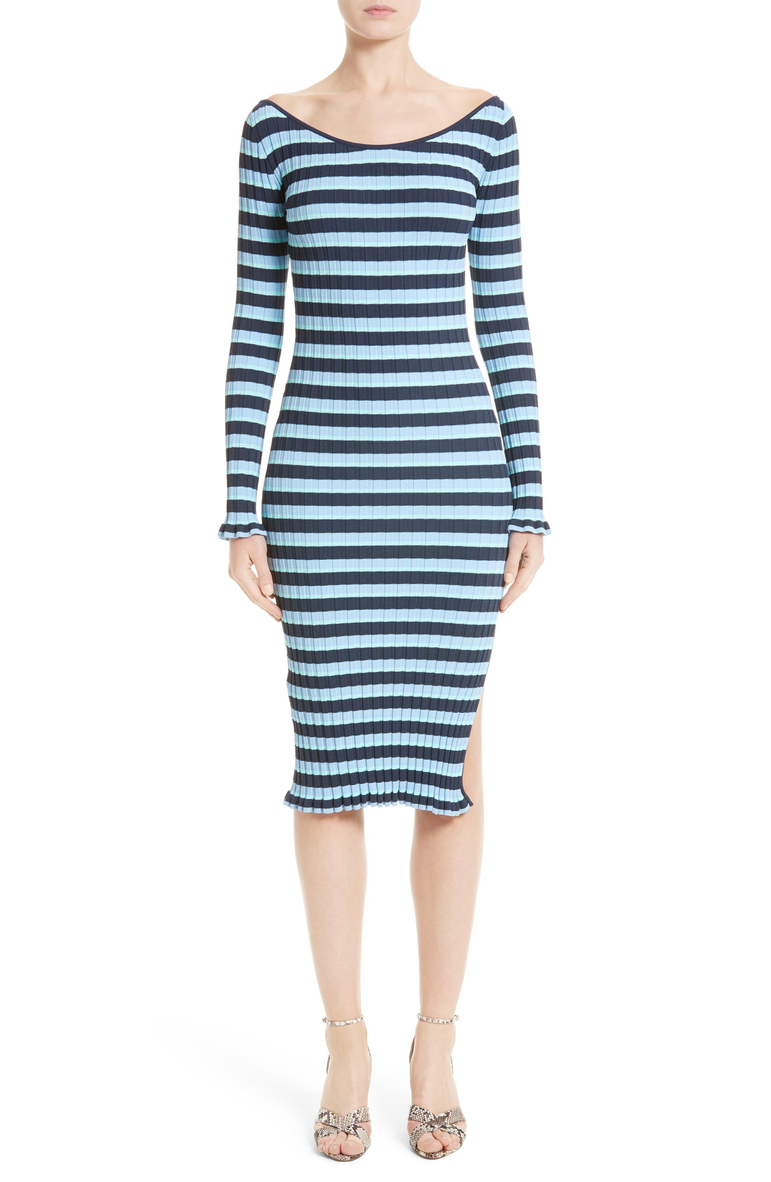 ,                             Socorro Stripe Dress,                             Main thumbnail 1, color,                             400