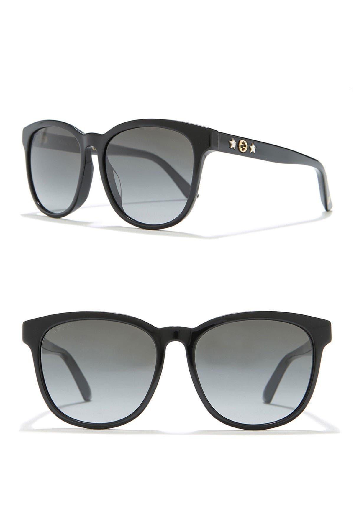 Image of GUCCI 57mm Square Sunglasses