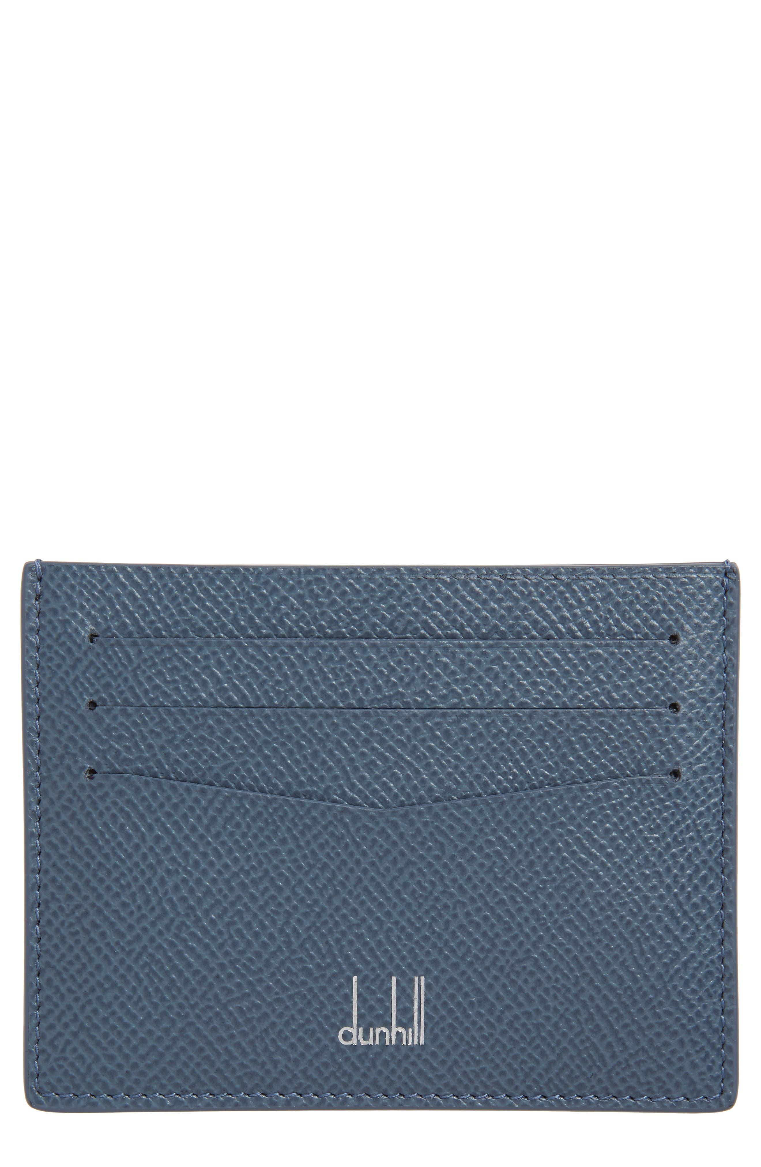 Dunhill Cadogan Card Case - Blue
