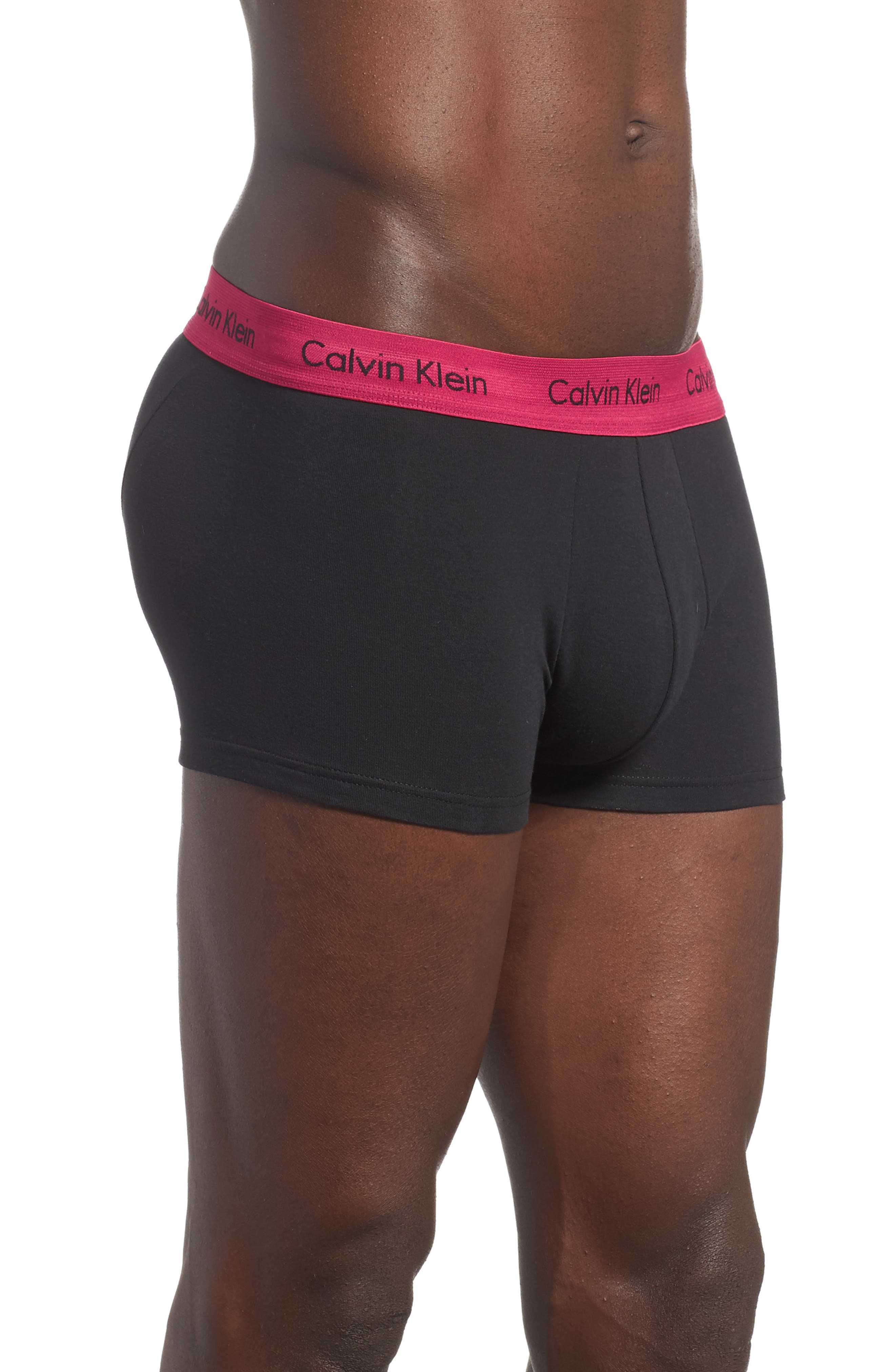 ,                             3-Pack Stretch Cotton Low Rise Trunks,                             Alternate thumbnail 35, color,                             004