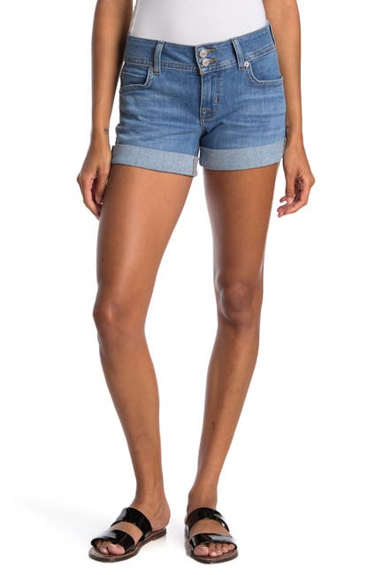 Image of HUDSON Jeans Ruby Mid Thigh Shorts