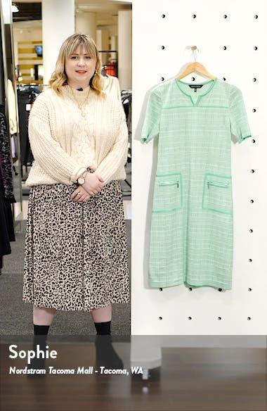 Short Sleeve Tweed A-Line Dress, sales video thumbnail