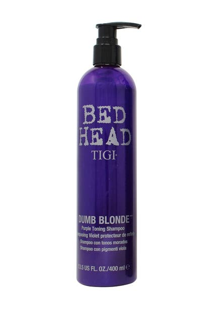 Image of TIGI Bed Head Dumb Blonde Purple Toning Shampoo - 13.5 oz.