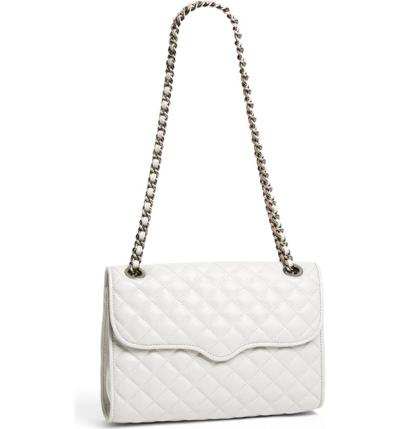 REBECCA MINKOFF 'Quilted Affair' Convertible Shoulder Bag, Main, color, 020