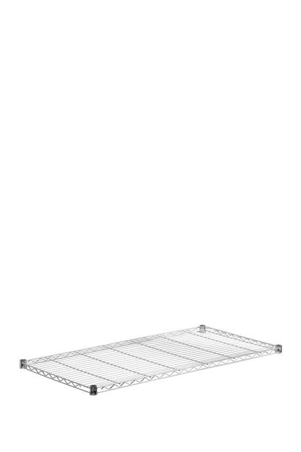 Image of Honey-Can-Do Chrome 24x48 Plated Steel Shelf