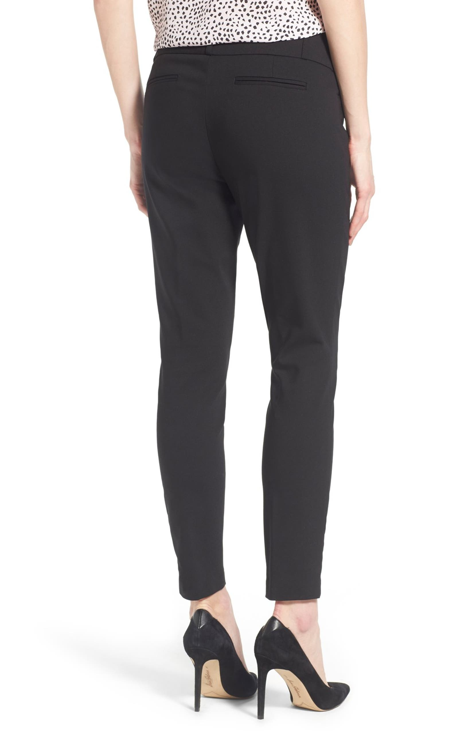 eb3133a4c4b70 Ivanka Trump Compression Front Ankle Pants | Nordstrom