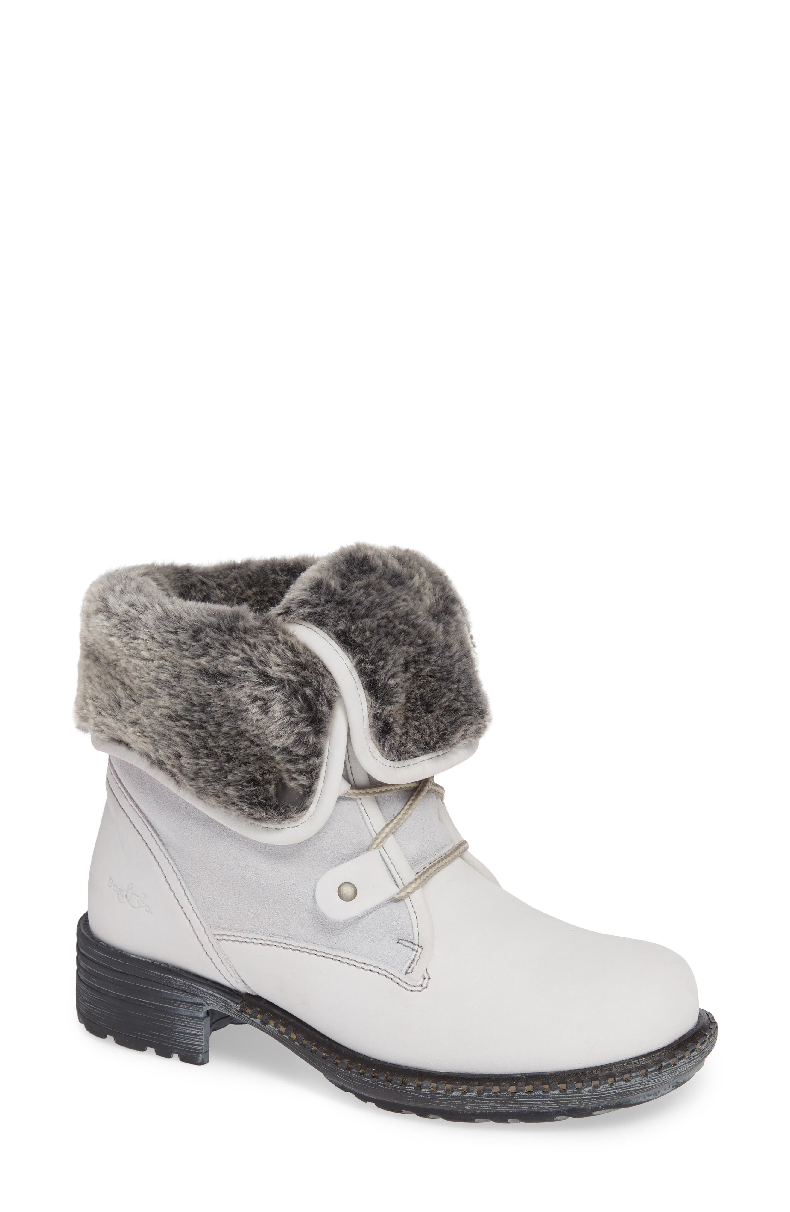 Bos. & Co. Springfield Waterproof Winter Boot, White