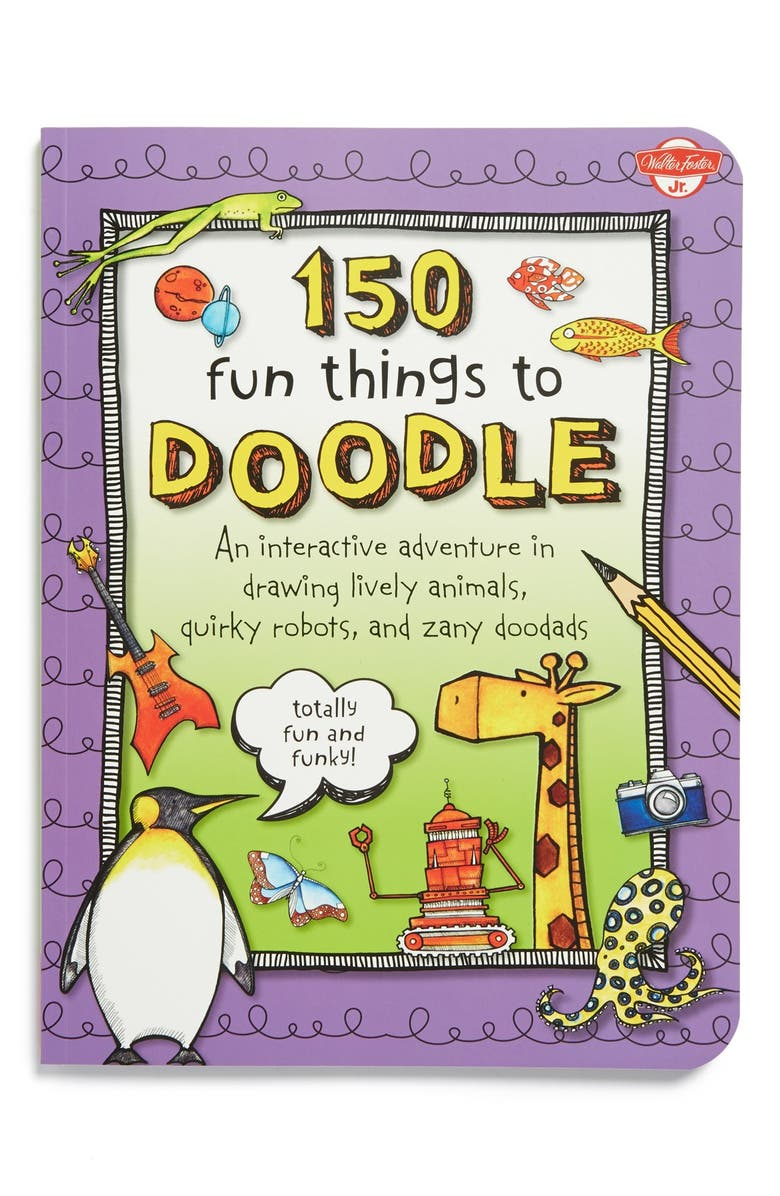 150 Fun Things To Doodle Drawing Book Nordstrom
