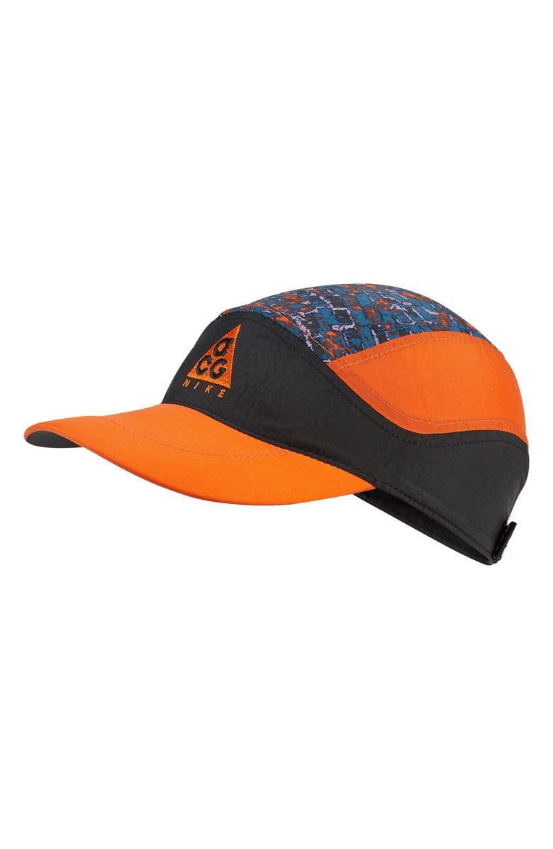 NIKE ACG Tailwind Hat, Main, color, BLACK/ SAFETY ORANGE