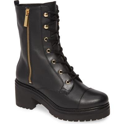 Michael Michael Kors Anaka Lace-Up Boot, Black