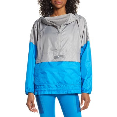 Adidas By Stella Mccartney Recycled Windbreaker, Grey