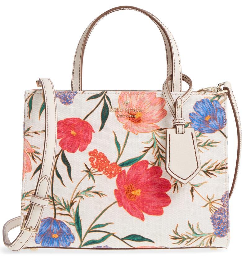 KATE SPADE NEW YORK thompson street - sam fabric handbag, Main, color, 100