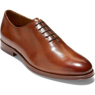 Cole Haan American Classics Gramercy Whole Cut Shoe, E - Brown