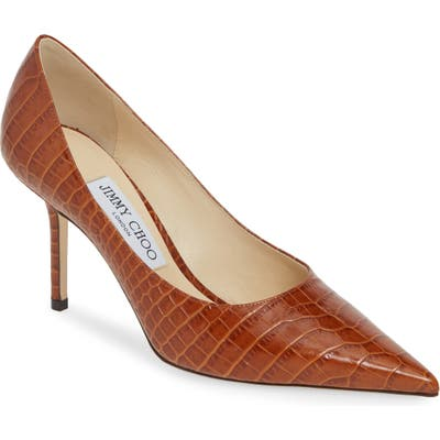 Jimmy Choo Love Pointy Toe Pump, Brown