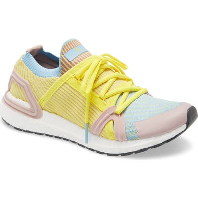 Adidas By Stella Mccartney Ultraboost 20 S Running Shoe, Yellow