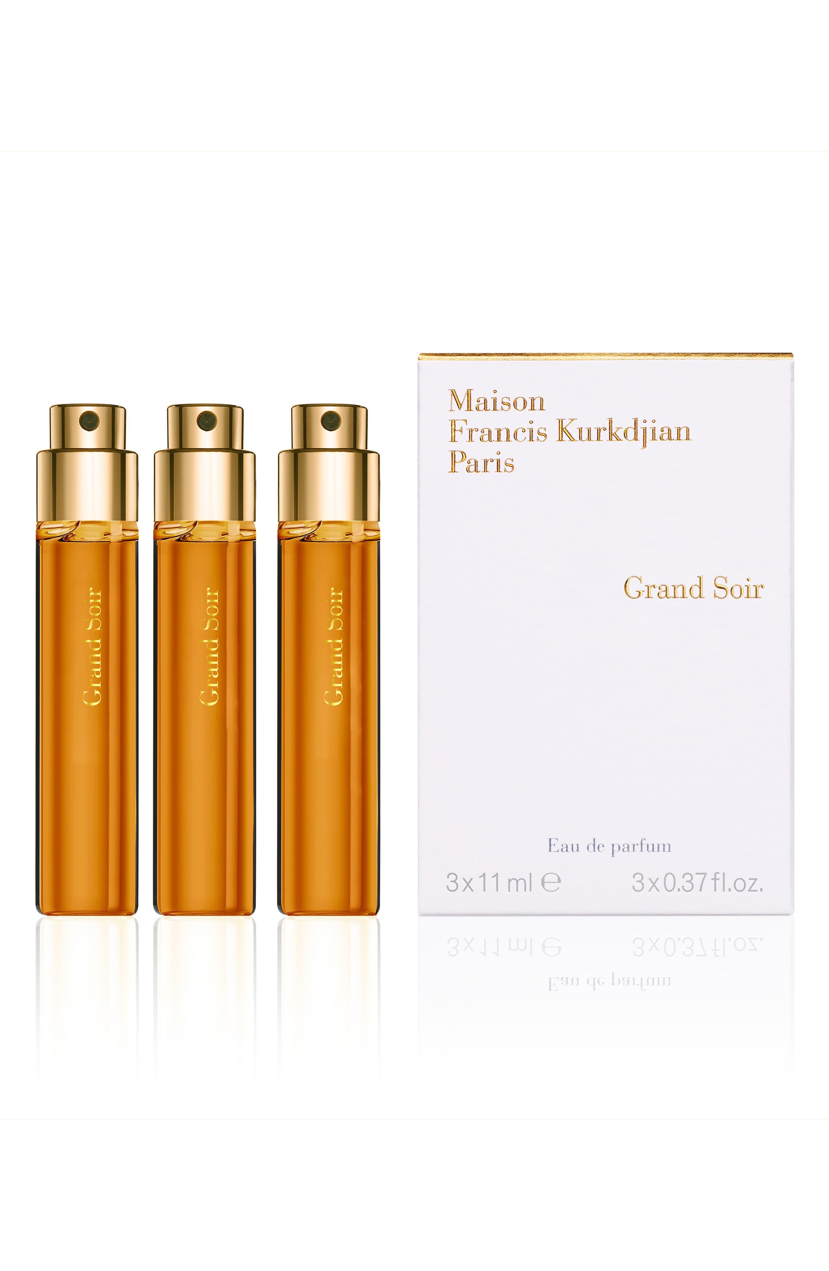 Paris Grand Soir Eau De Parfum Travel Spray Trio
