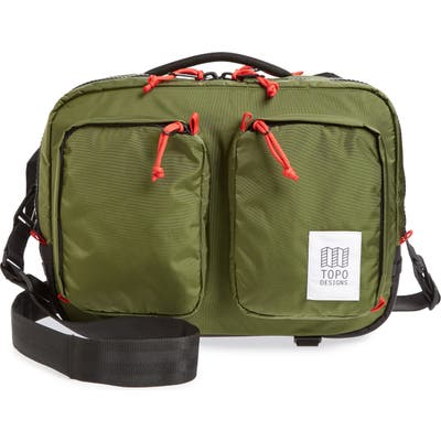 Topo Designs Global Water Repellent Briefcase - Green