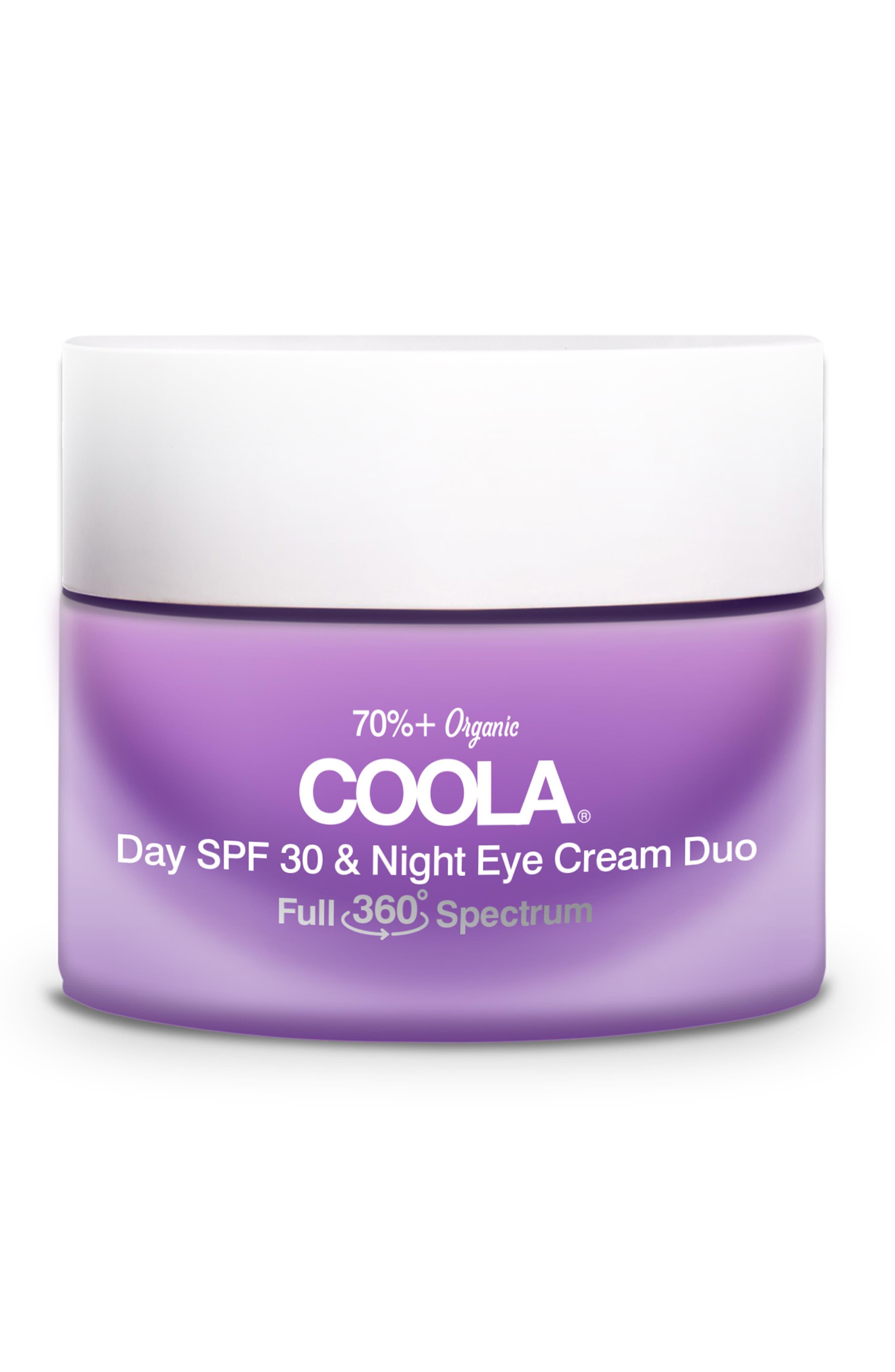 Coola Full Spectrum 360? Day Spf 30 & Night Organic Eye Cream Duo