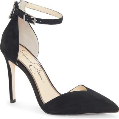 Jessica Simpson Paisleah Ankle Strap Pump, Black