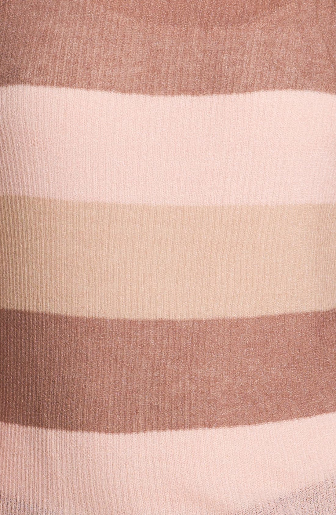 ,                             <sup>®</sup> Stripe Knit Sweater,                             Alternate thumbnail 6, color,                             690