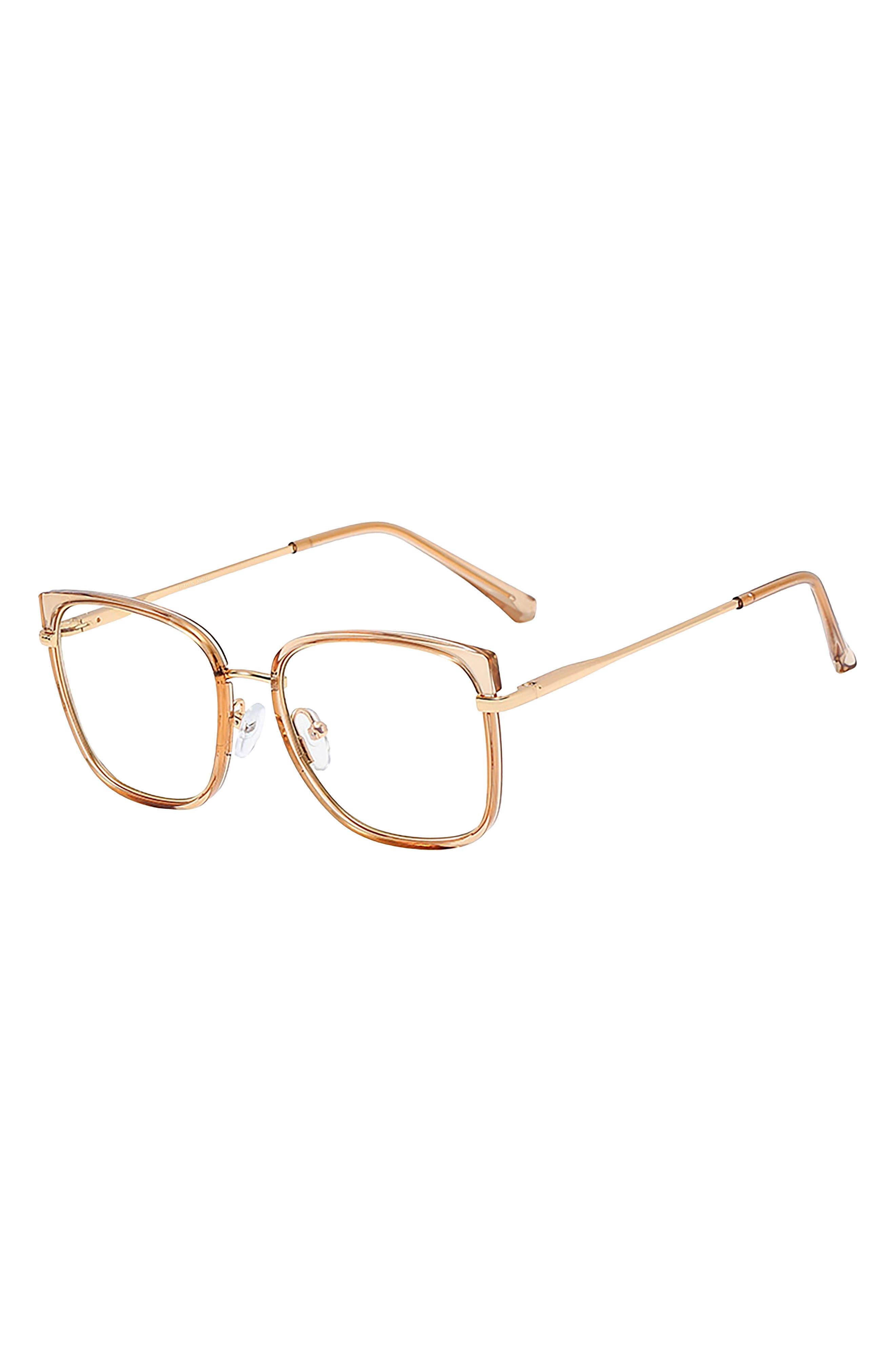 Sahara 53mm Square Blue Light Blocking Glasses