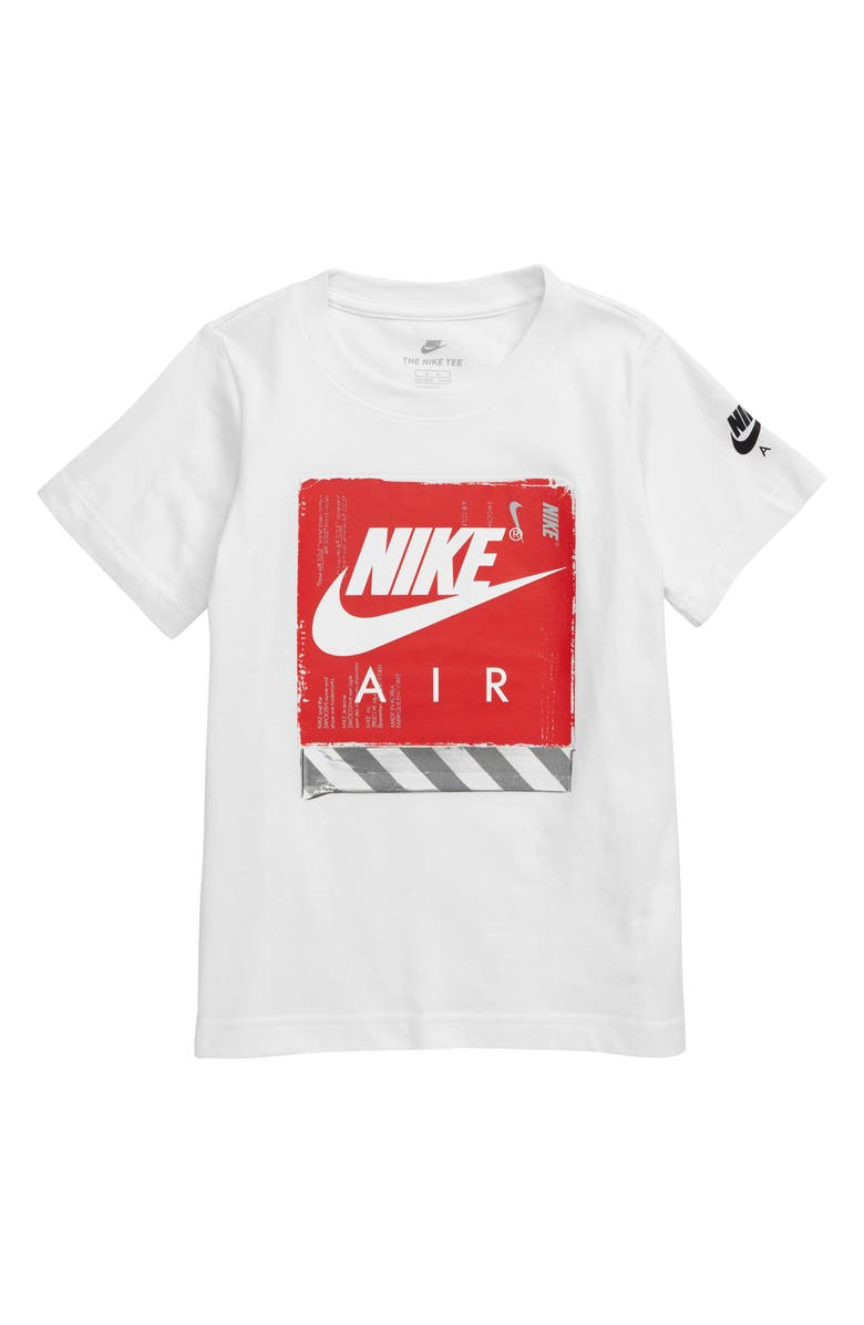 c7bbcc6d87ff2 Nike Futura Air Hazard Shoebox Graphic T-Shirt (Toddler Boys ...