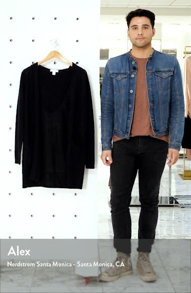 Linen & Cotton Hooded Cardigan, sales video thumbnail
