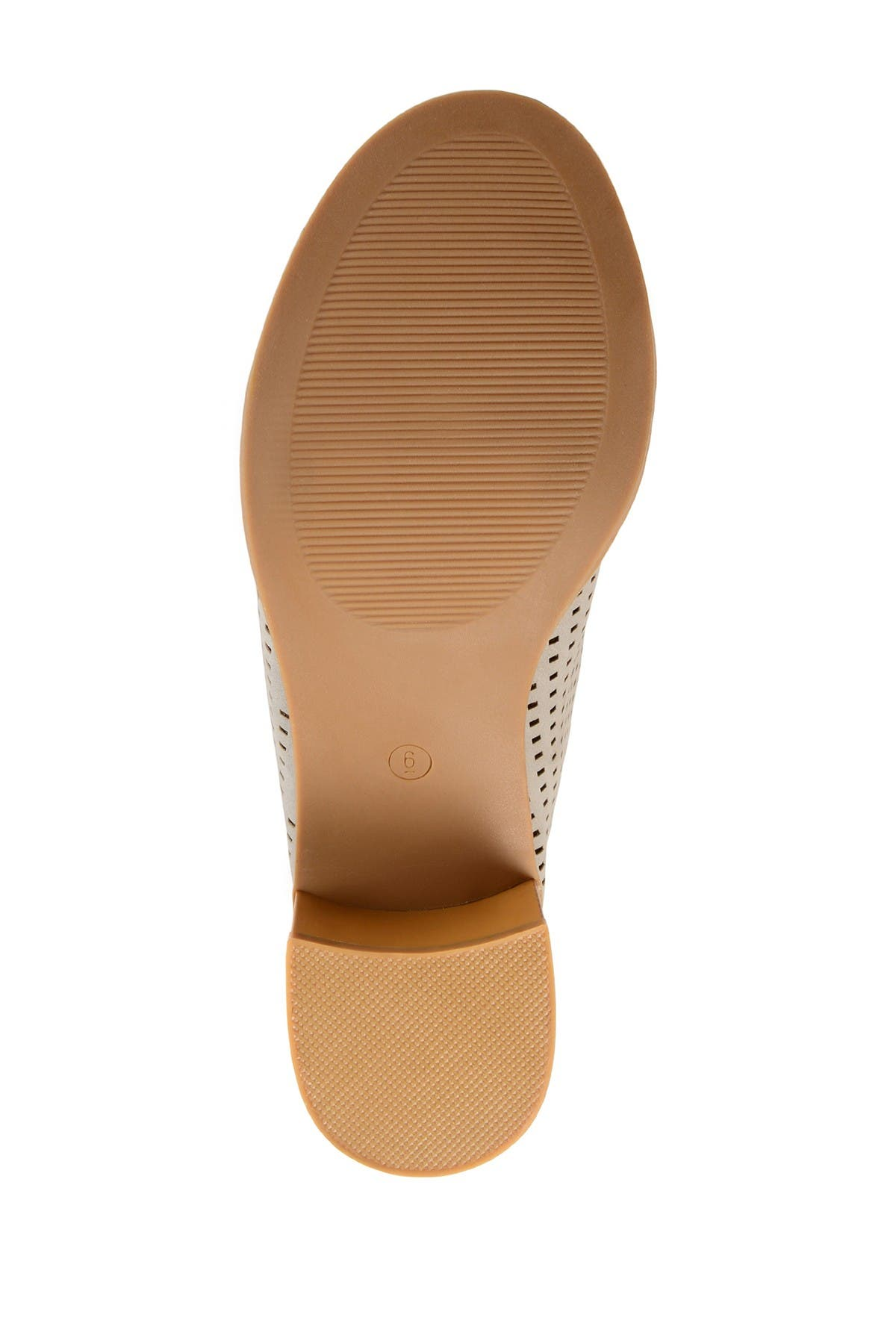 Image of JOURNEE Collection Ziff Perforated Mule