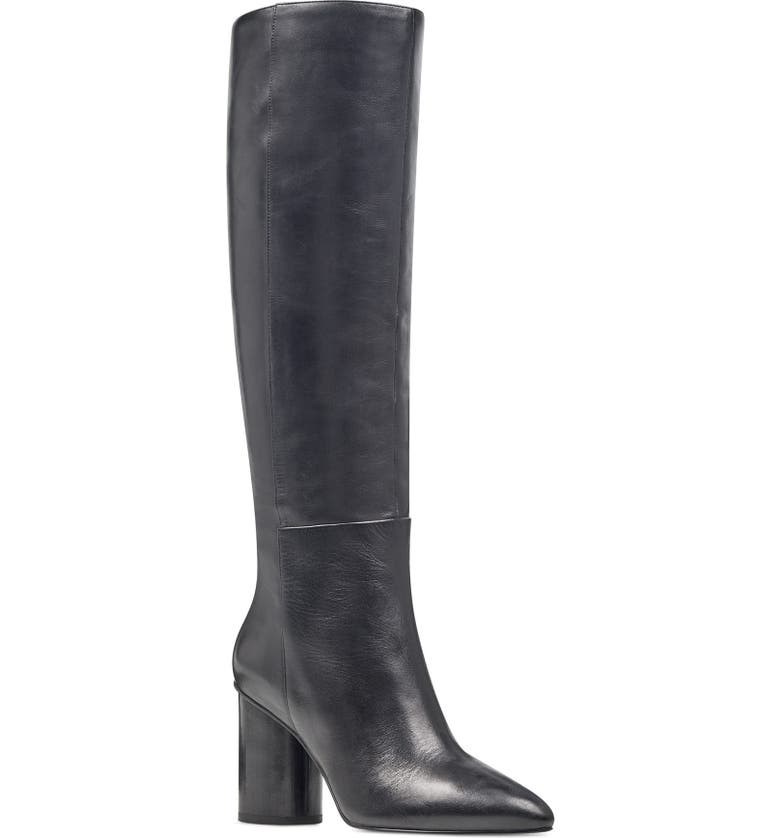 NINE WEST Christie Knee High Boot, Main, color, 001