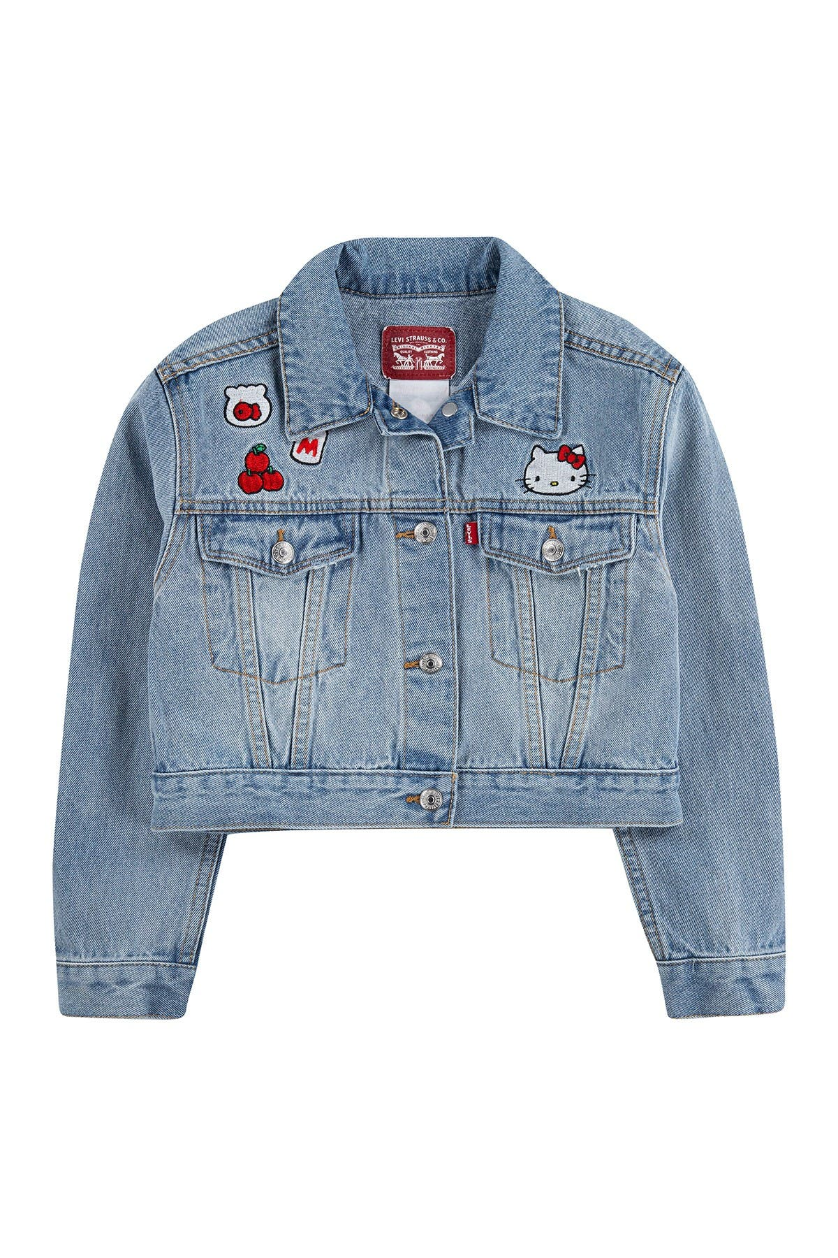 Image of Levi's Hello Kitty Denim Trucker Jacket