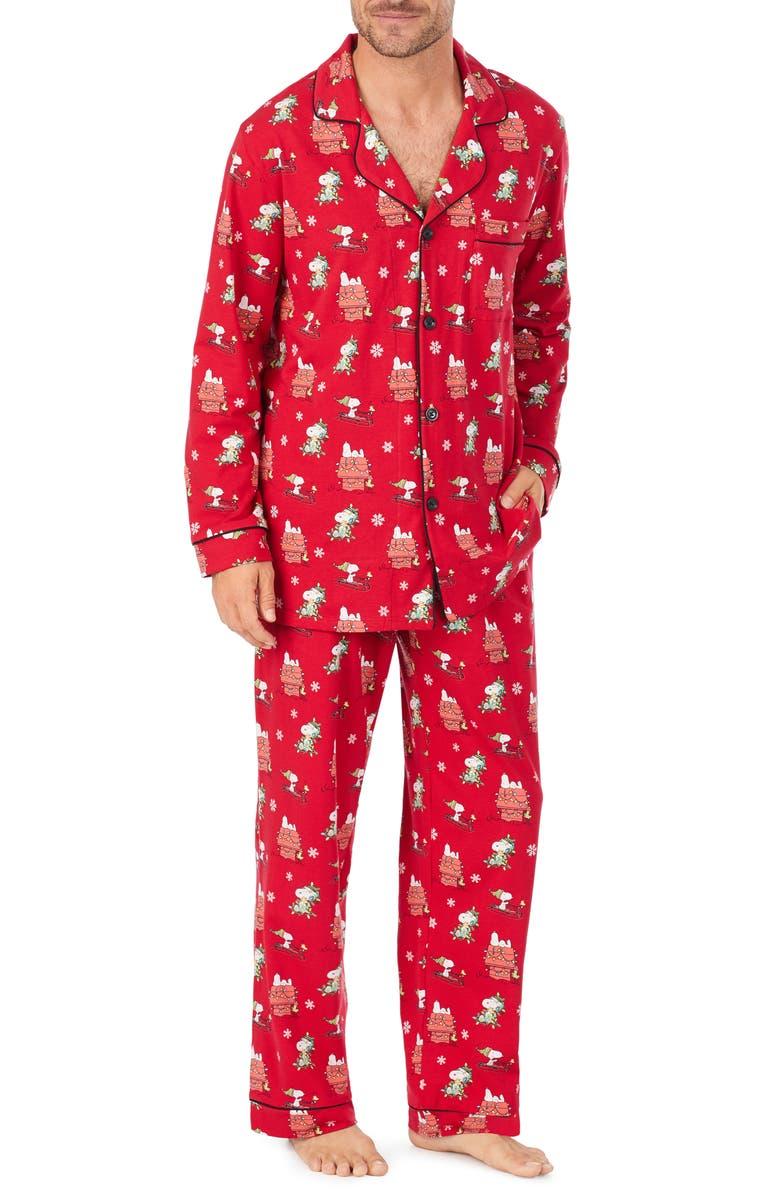 BEDHEAD PAJAMAS Snoopy Pajama Set, Main, color, 600