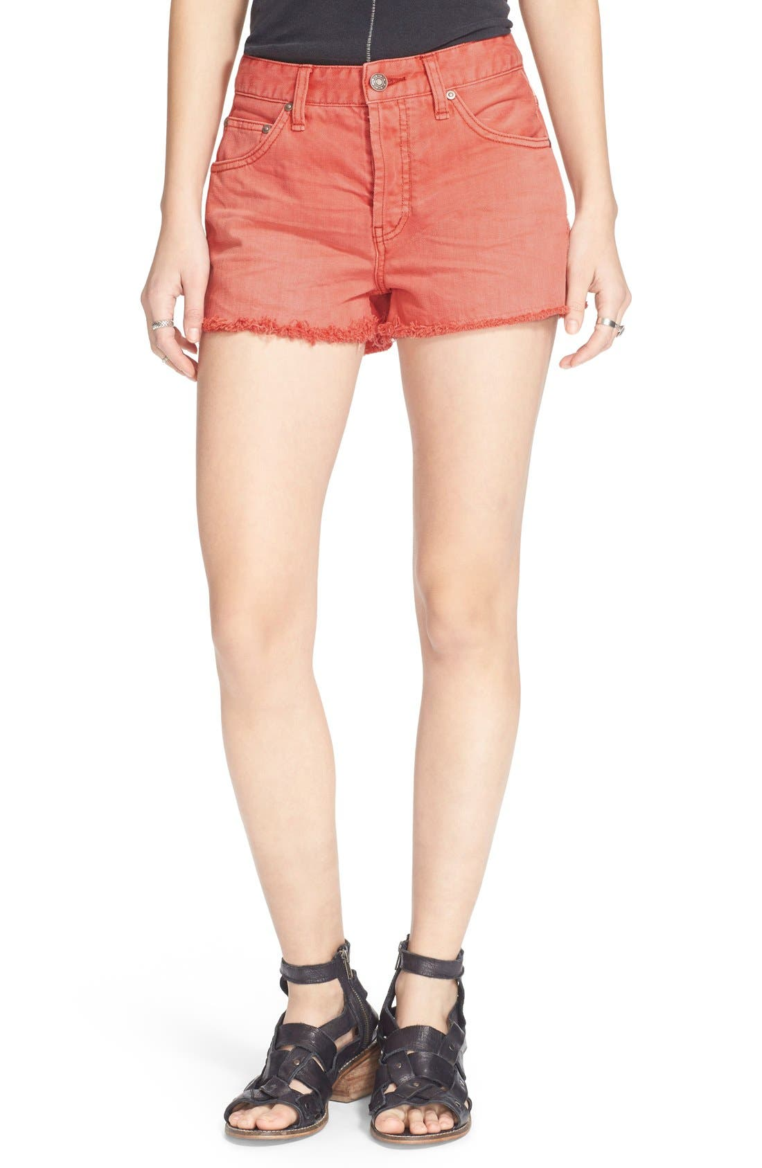 ,                             'Uptown' Denim Shorts,                             Main thumbnail 28, color,                             955