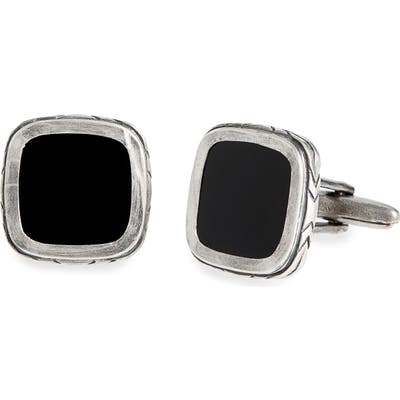 John Varvatos Onyx Cuff Links