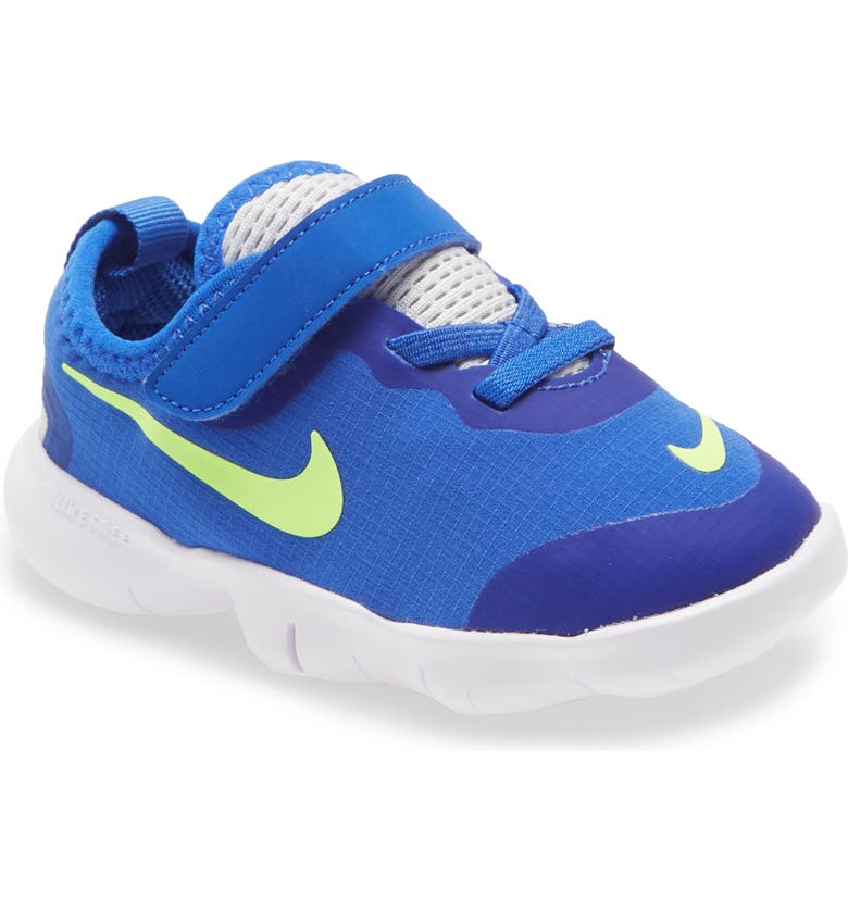 NIKE Free RN 5.0 2020 Running Shoe, Main, color, HYPER ROYAL/ GREEN-PHOTON DUST