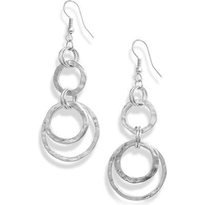 Karine Sultan Hoop Drop Earrings