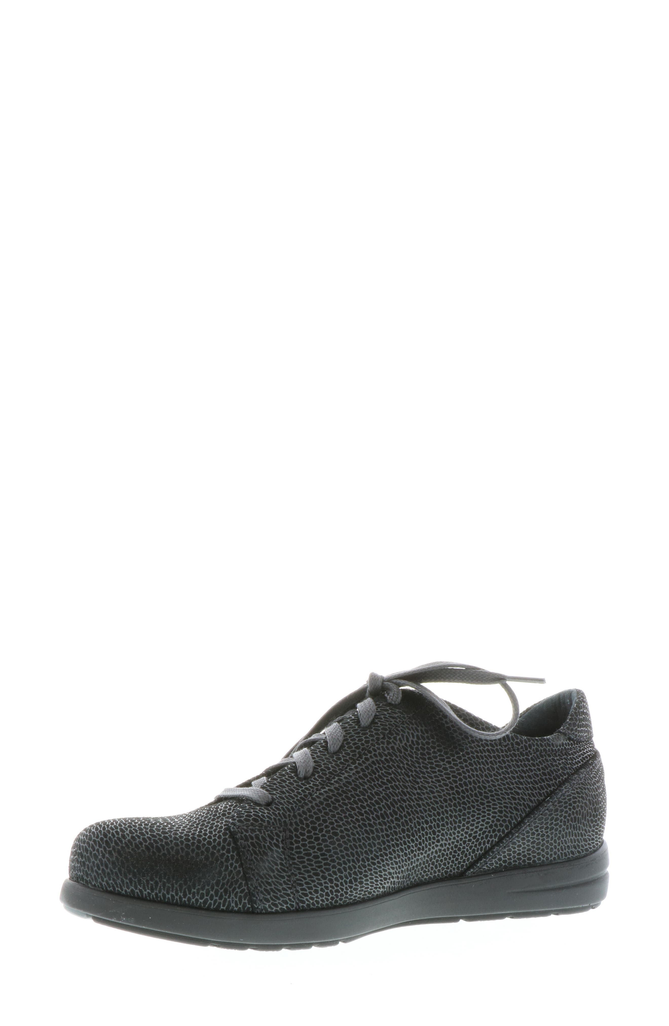 ,                             Kinetic Sneaker,                             Alternate thumbnail 9, color,                             BLACK NUBUCK LEATHER