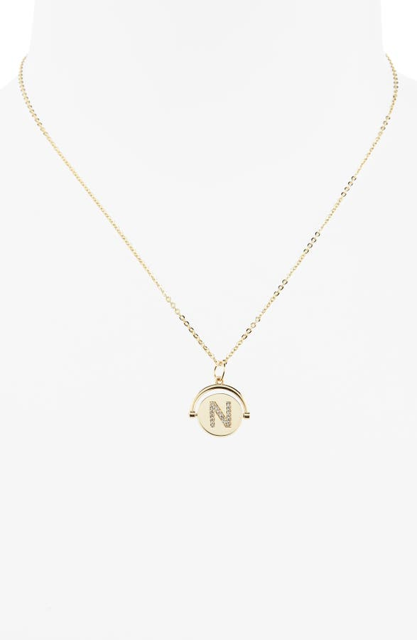 7b67fba1a813f Love Letters Spinning Initial Necklace