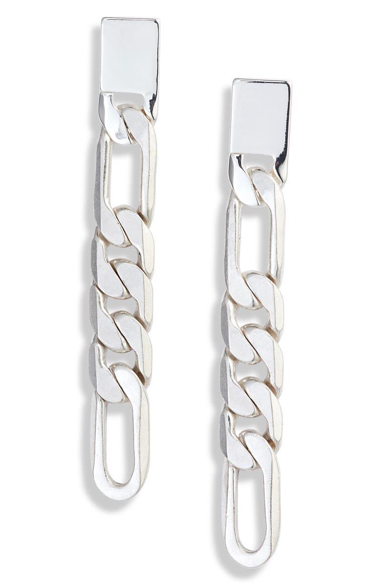 Landry Chain Drop Earrings by Jenny Bird