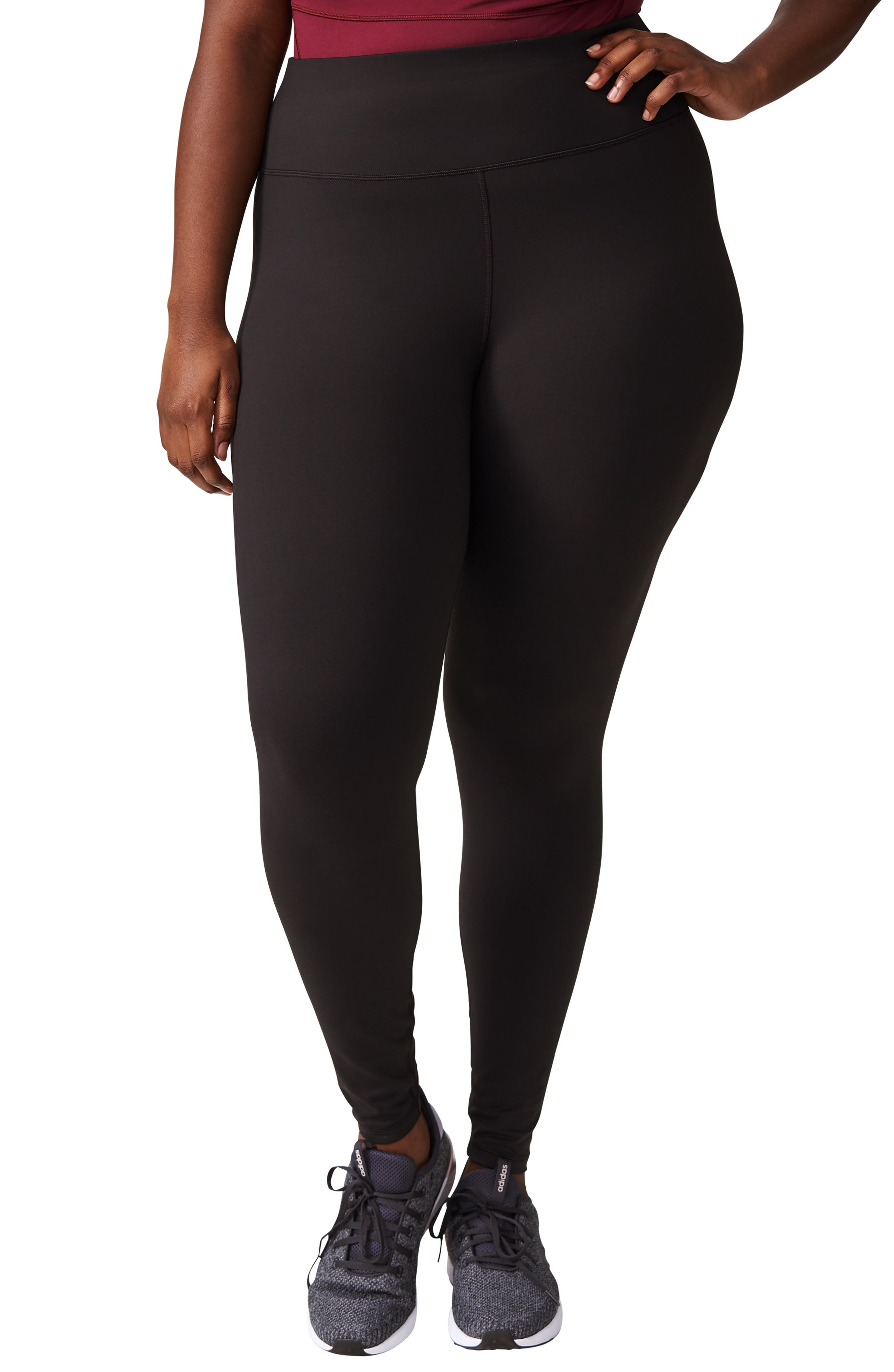 Plus Size Universal Standard Core Leggings, Size S (1-16W) - Black