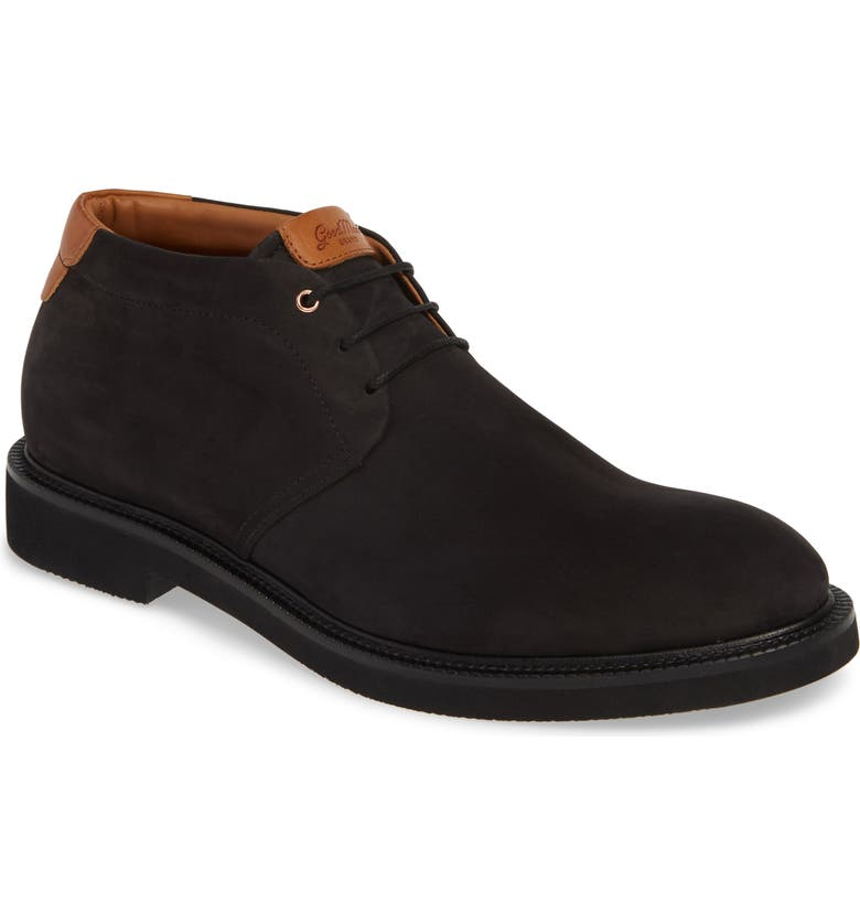 GOOD MAN BRAND Work Wear Chukka Boot, Main, color, BLACK / VACHETTA