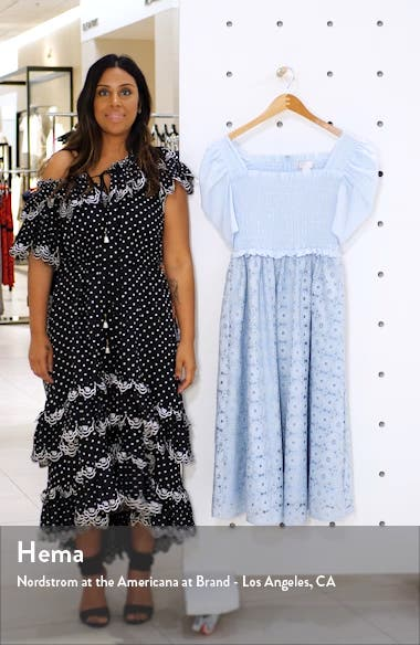 Smocked Waist A-Line Dress, sales video thumbnail